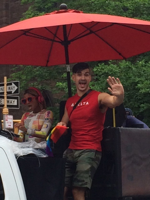 Delta at the Pride Parade